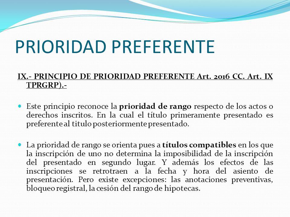 TERCEROS REGISTRALES CONEXIÓN LINEAL ART.2014 (FE PUBLICA) A VENDE B VENDE C DOBLE VENTA ART.
