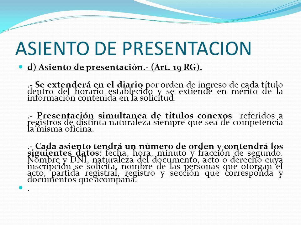 DESISTIMIENTO DE LA ROGATORIA c) Desistimiento de la Rogatoria.- (Art. 13 RG). 1. El presentante podrá desistirse antes de la inscripción, por escrito