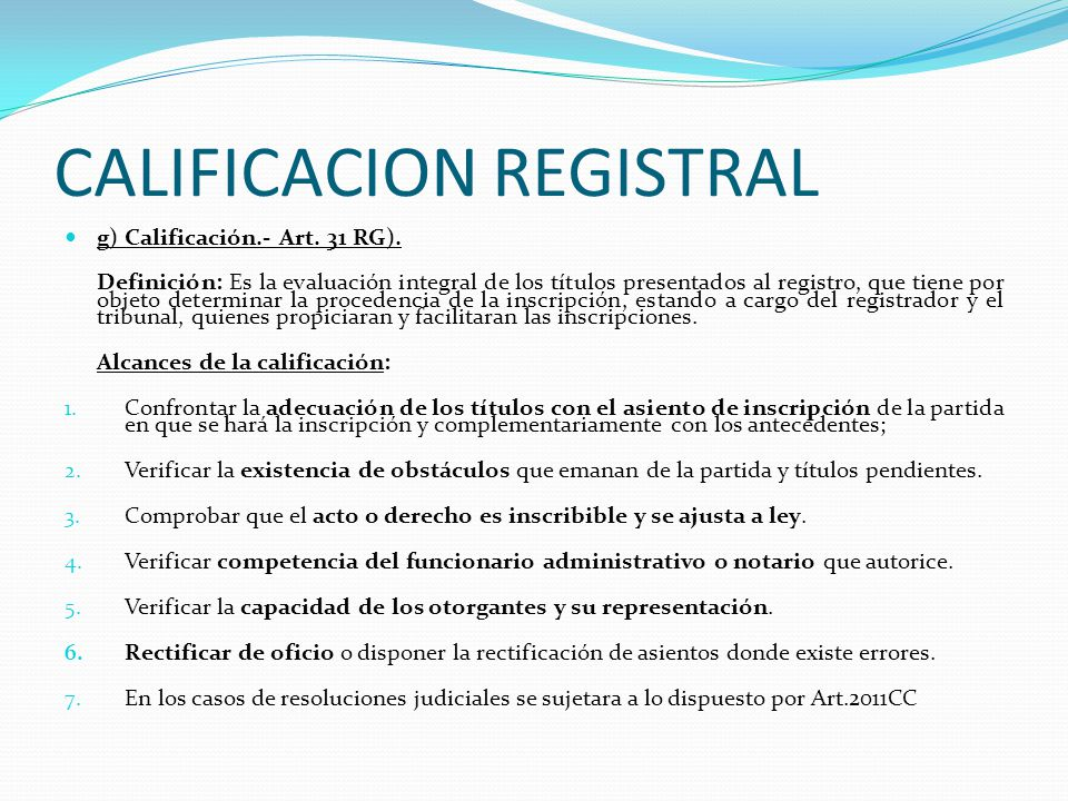 SUSPENSION DEL PLAZO DE VIGENCIA DEL ASIENTO DE PRESENTACION.- f) Suspensión del plazo de vigencia del asiento.- 1.