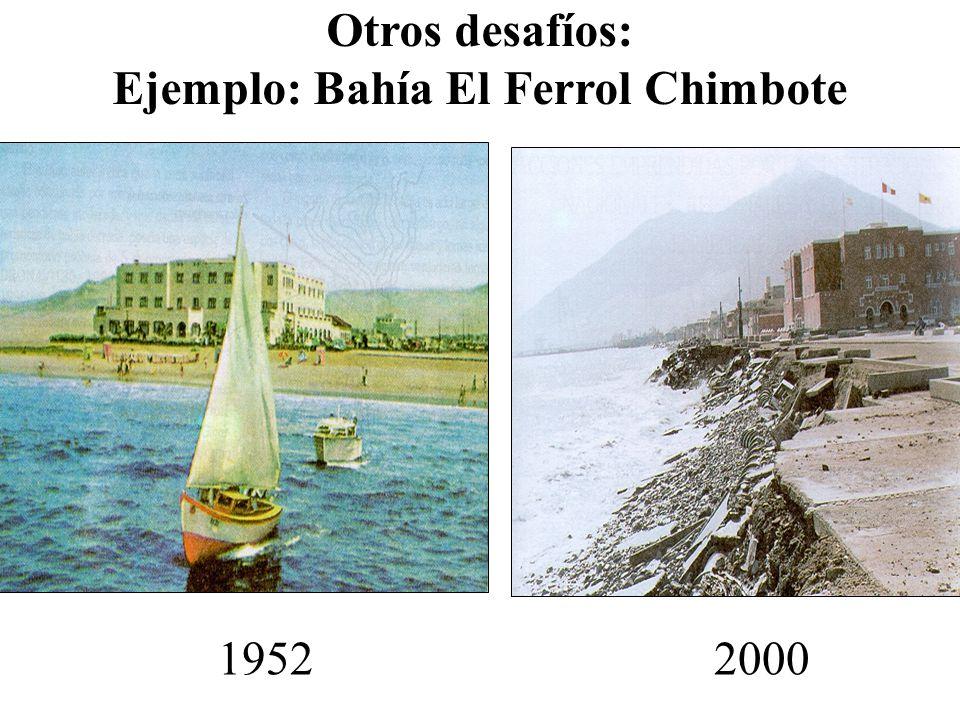 19522000 Otros desafíos: Ejemplo: Bahía El Ferrol Chimbote