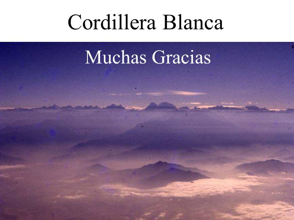 Cordillera Blanca Muchas Gracias