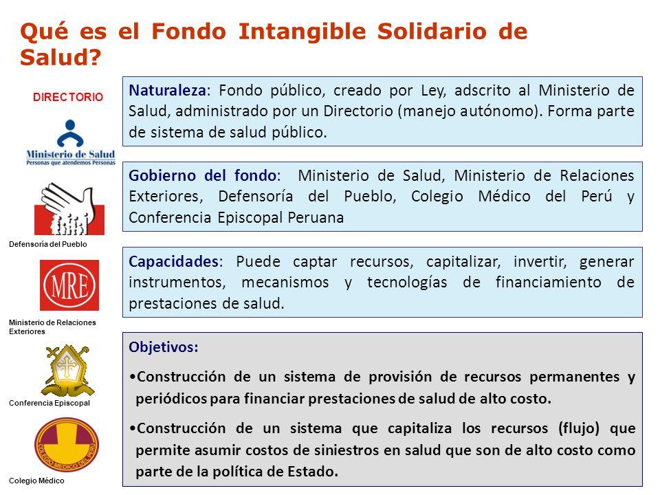 Qué es el Fondo Intangible Solidario de Salud.
