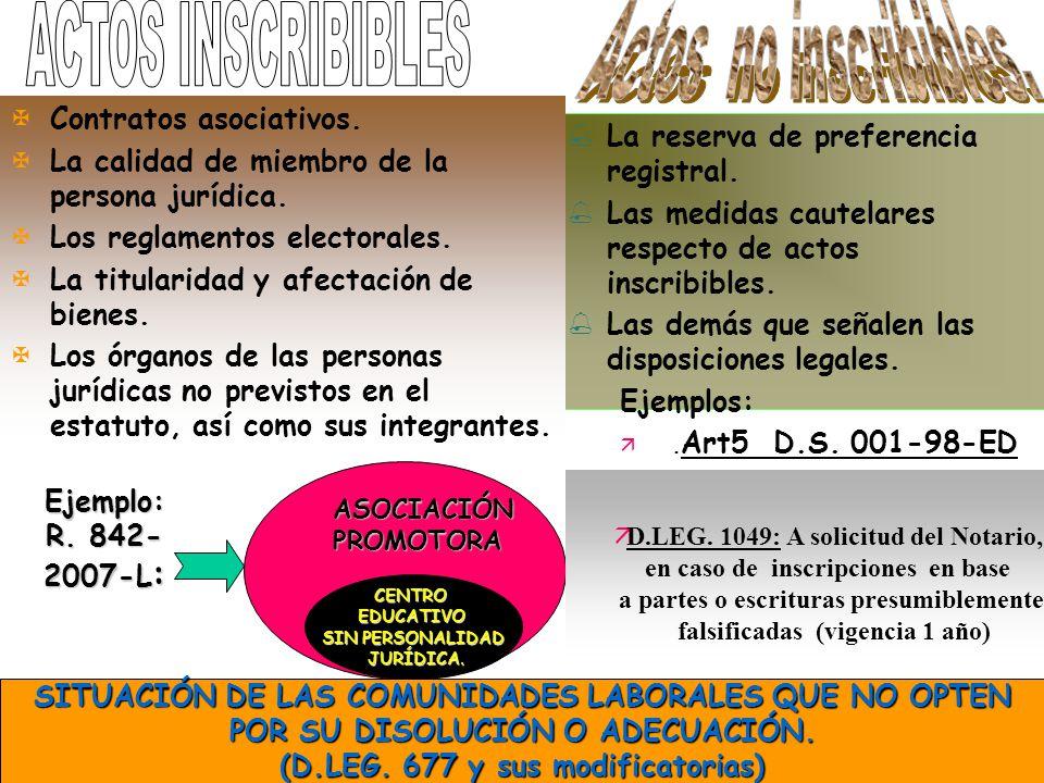 4 RÉGIMEN GENERAL DEL ART.6 DEL PROYECTO VS. SU CUARTA DISPOSICIÓN ESPECIAL Y R.
