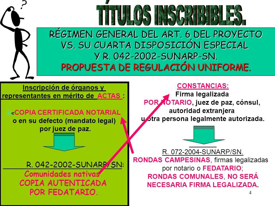 5 NORMATIVIDAD RELEVANTE DISPERSA EN DIFERENTES REGLAMENTOS O EN JURISPRUDENCIA..
