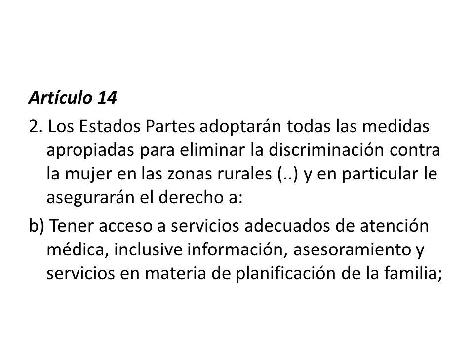 Artículo 14 2.