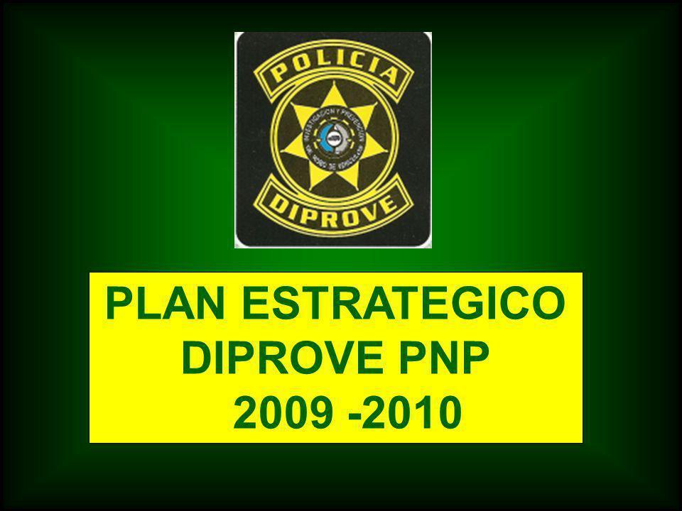 PLAN ESTRATEGICO DIPROVE PNP 2009 -2010