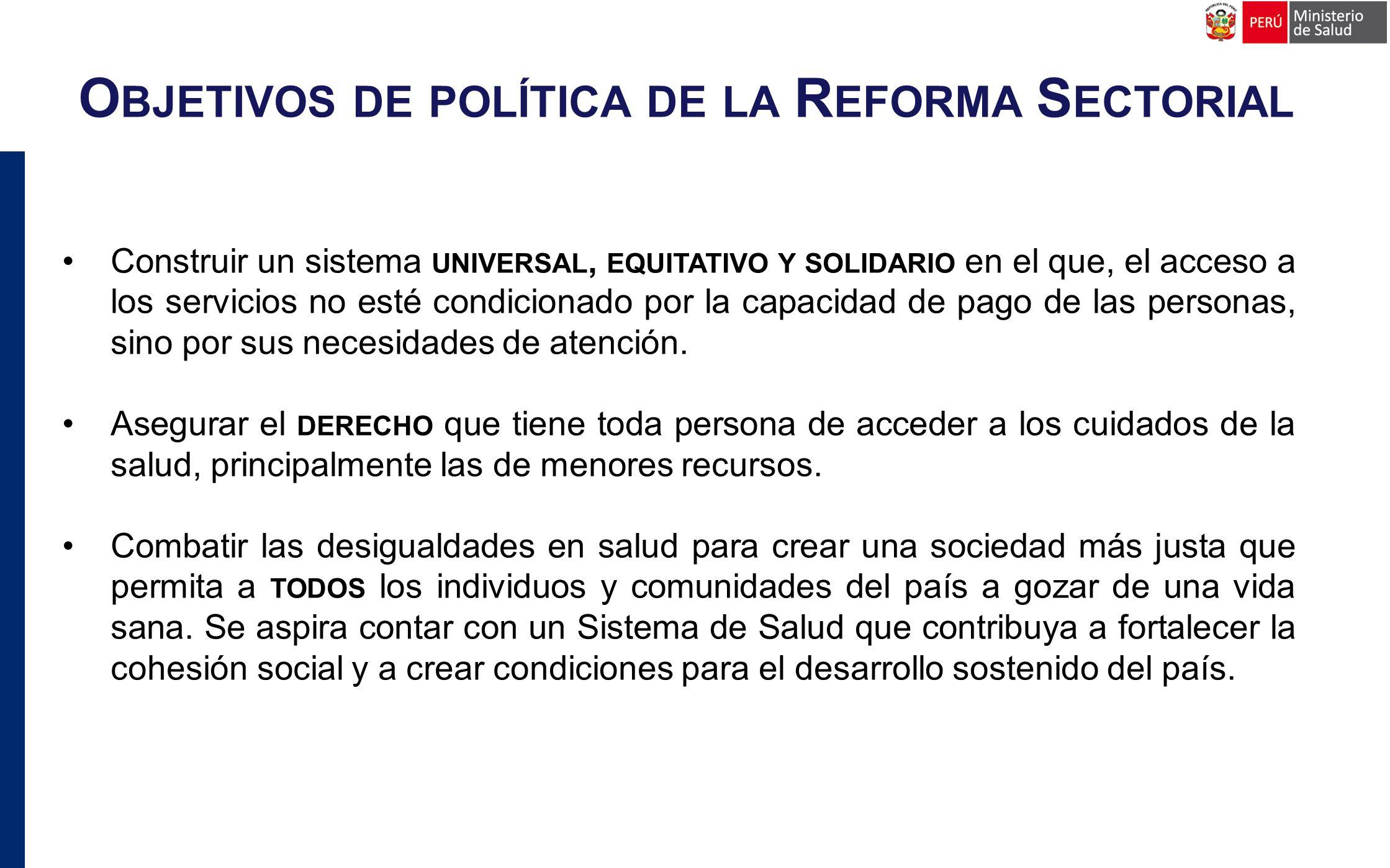 Propuestas de medidas concretas y viables de reforma en los 4 ejes propuestos. P RODUCTO ESPERADO