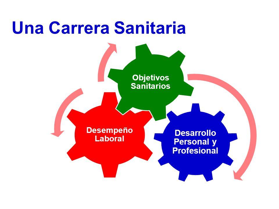 Desarrollo Personal y Profesional Desempeño Laboral Objetivos Sanitarios Una Carrera Sanitaria