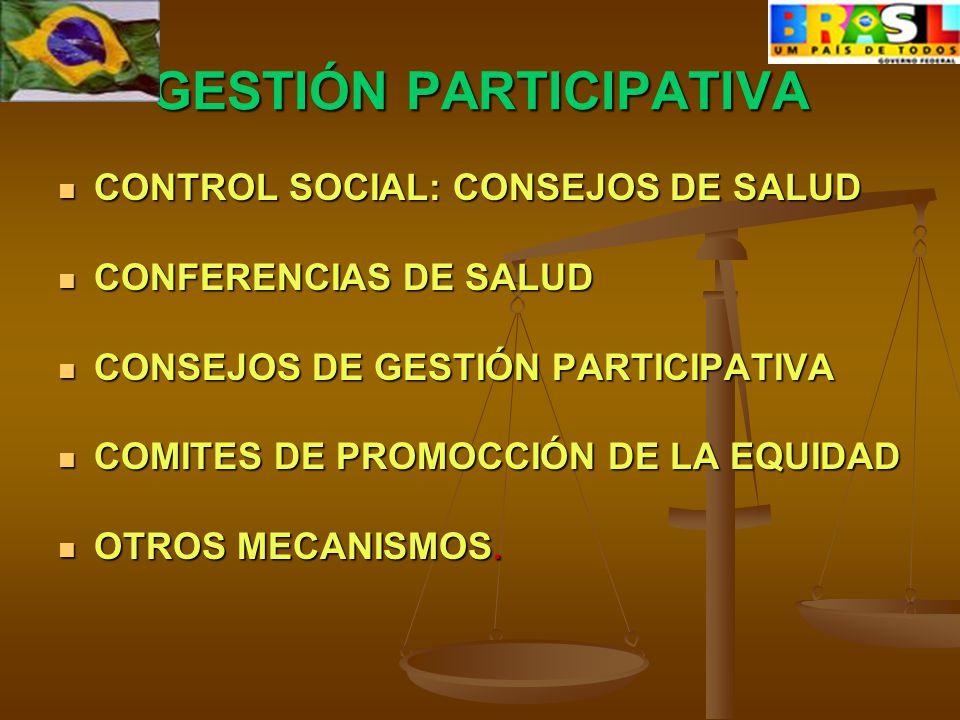 PROMOCION DE EQUIDAD COMITES: NEGROS; CAMPESINOS; GITANOS RESULTADOS : CAMBIO EN ESTATISTICAS PRESUPUESTACION DIFERENCIADA