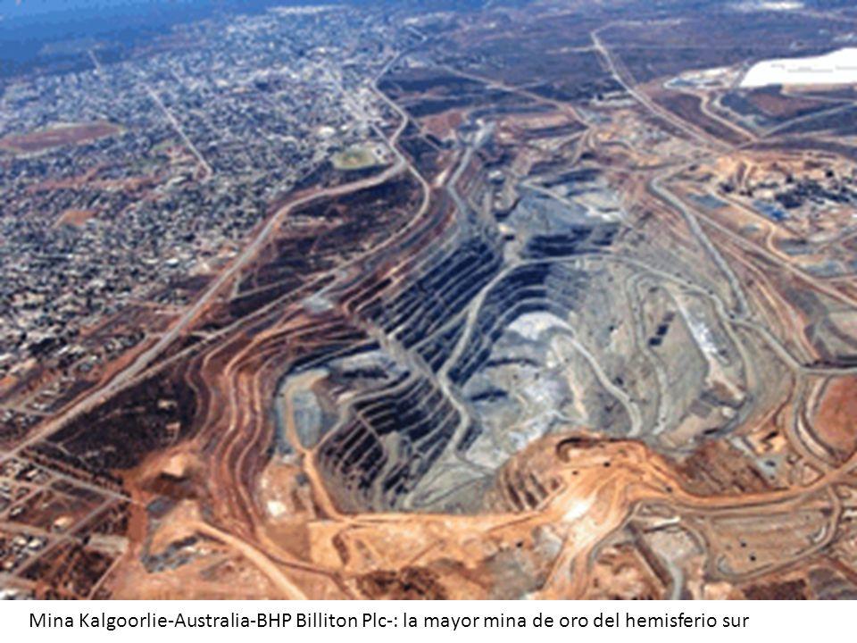 Mina Kalgoorlie-Australia-BHP Billiton Plc-: la mayor mina de oro del hemisferio sur