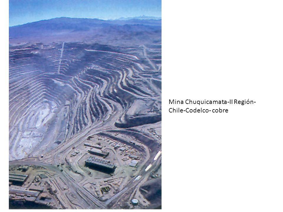 Mina Chuquicamata-II Región- Chile-Codelco- cobre