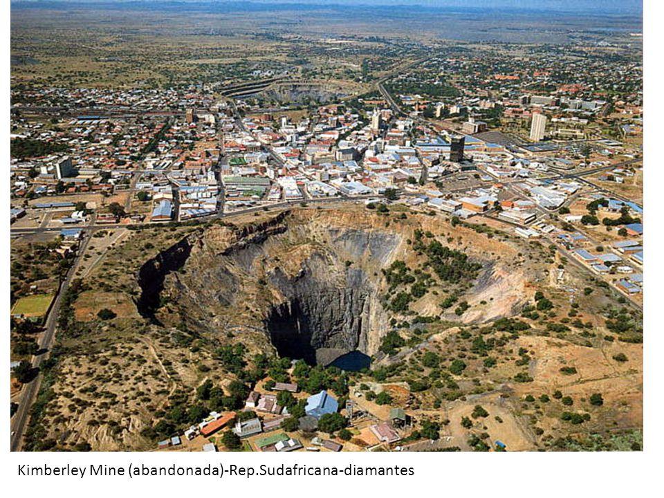 Kimberley Mine (abandonada)-Rep.Sudafricana-diamantes