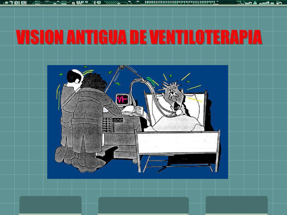 VISION ANTIGUA DE VENTILOTERAPIA