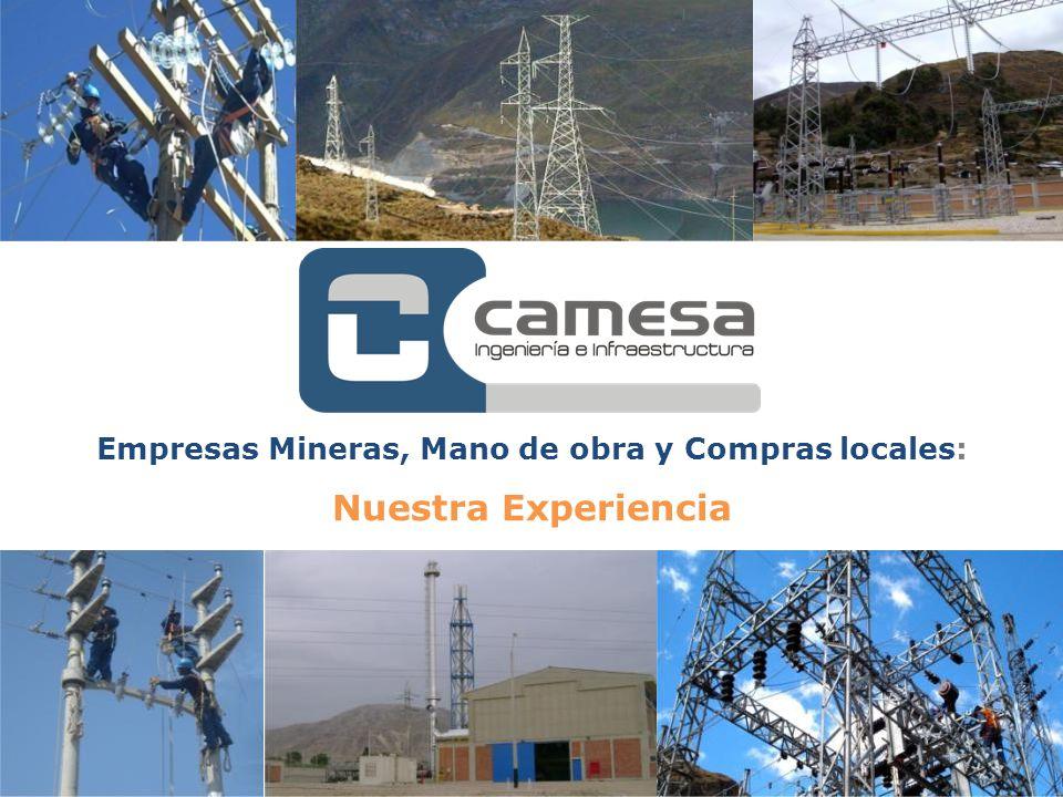 Empresas Mineras, Mano de obra y Compras locales: Nuestra Experiencia