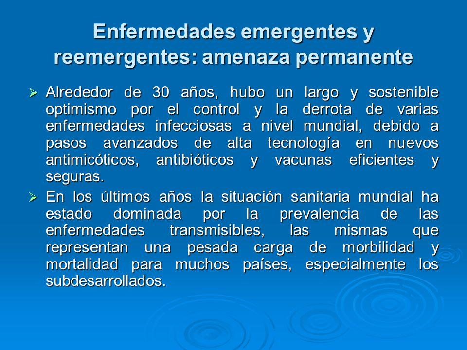 Situación en las Américas Si bien el dengue y el dengue hemorrágico tienen un alcance mundial, su surgimiento como importante problema de salud pública ha sido muy notable en las Américas, donde desde 1989 a 1993 el número de casos aumentó 60 veces en comparación con el quinquenio anterior.