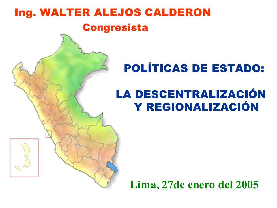 ELECCIONES GOBIERNOS REGIONALES