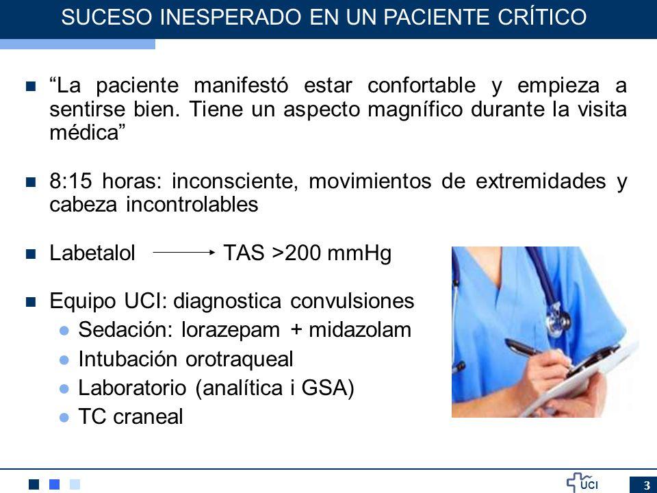 UCI 34 INCIDENCIA DE LOS ERRORES DE MEDICACION Errores de medicación en pacientes críticos adultos de un hospital universitario.