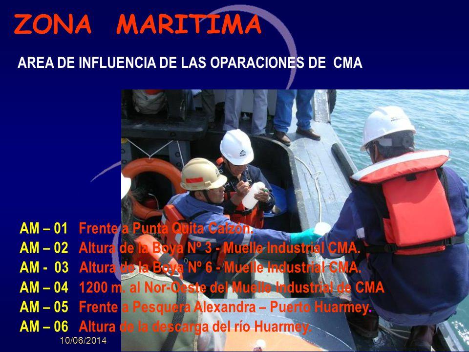 10/06/2014 AM – 01 Frente a Punta Quita Calzón.