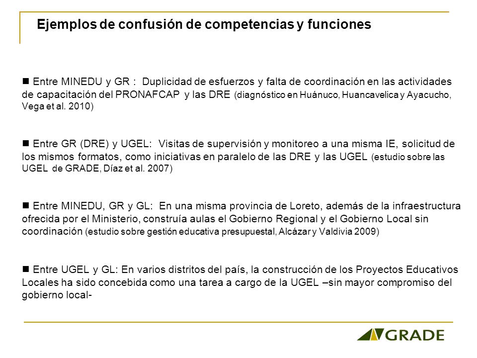 Modelo de Gestión Educativa del GR de San Martín Contexto: proyecto USAID/AprenDes -SUMA (2004-2009), PEAR, PELA, movilización de actores locales por la mejora de los aprendizajes.