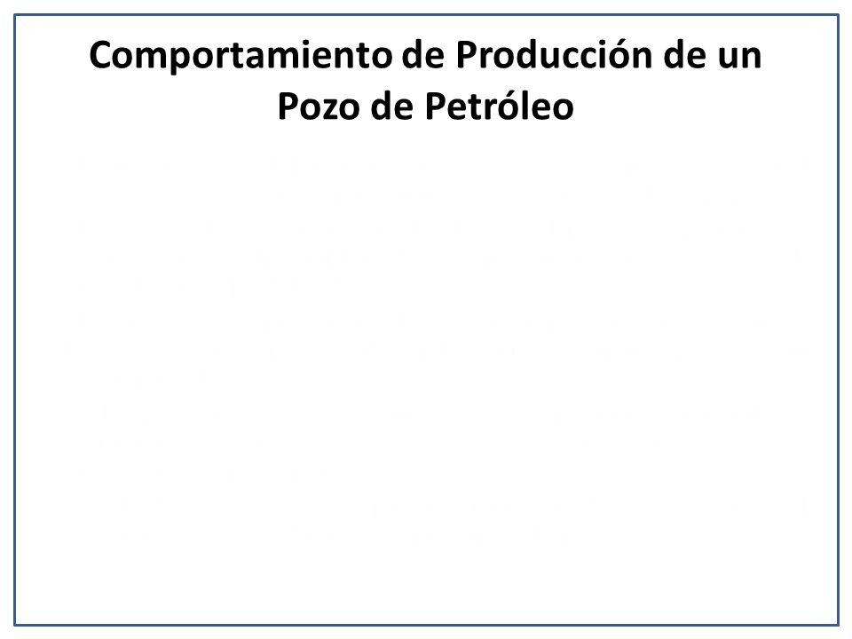 Comportamiento de Producción de un Pozo de Petróleo