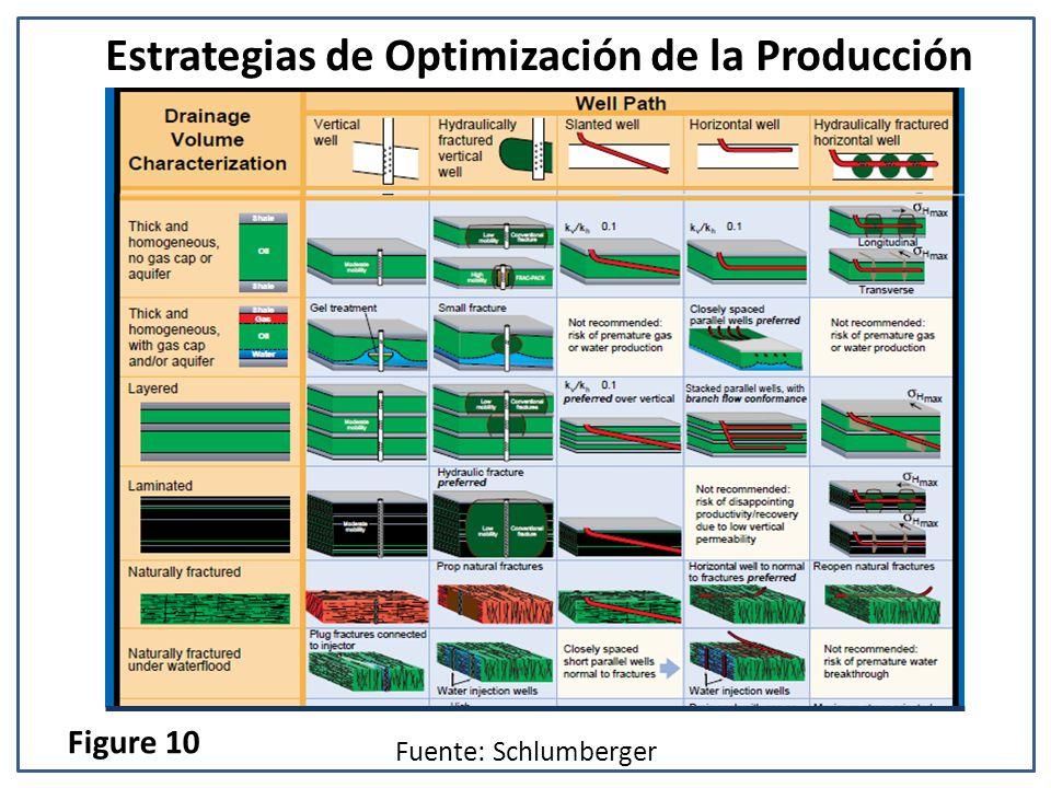 Estrategias de Optimización de la Producción Fuente: Schlumberger Figure 10