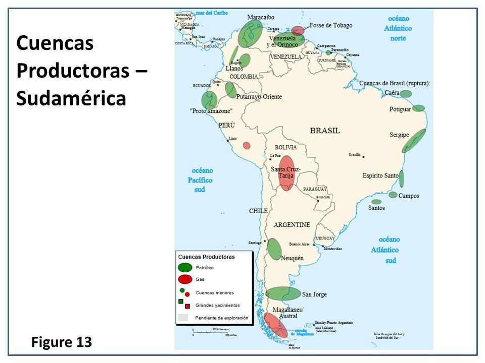 Cuencas Productoras – Sudamérica Figure 13
