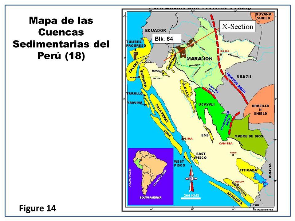 Mapa de las Cuencas Sedimentarias del Perú (18) Figure 14