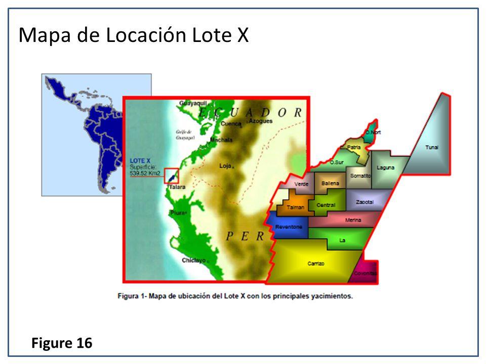 Mapa de Locación Lote X Figure 16