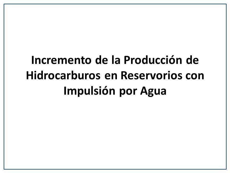 Incremento de la Producción de Hidrocarburos en Reservorios con Impulsión por Agua