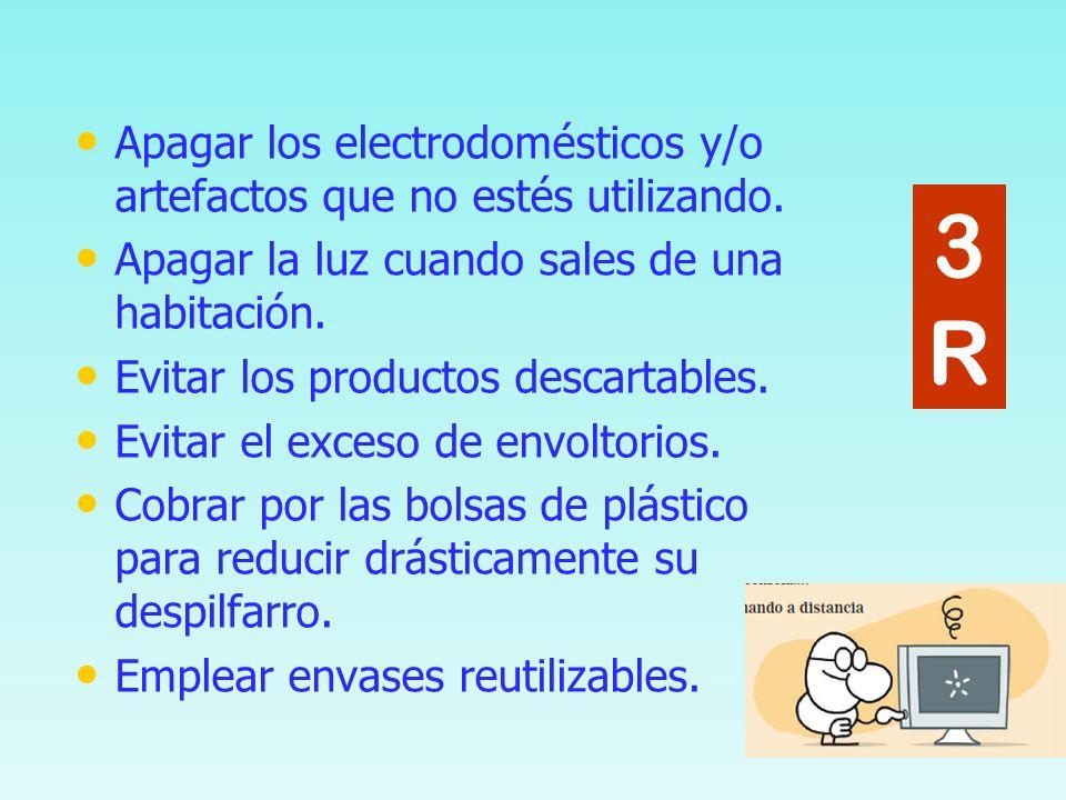R educir, R eutilizar R eciclar 3R3R