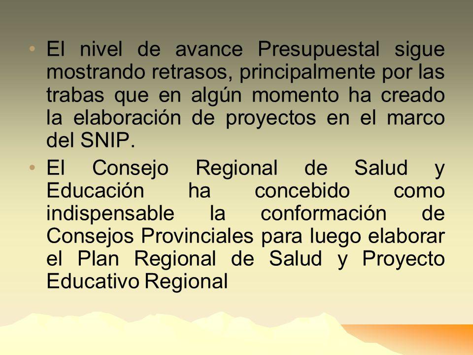 La apertura del Gobierno Regional a la participación ciudadana, en la práctica ha sido mínima Los Consejeros Regionales distraen sus labores legislati