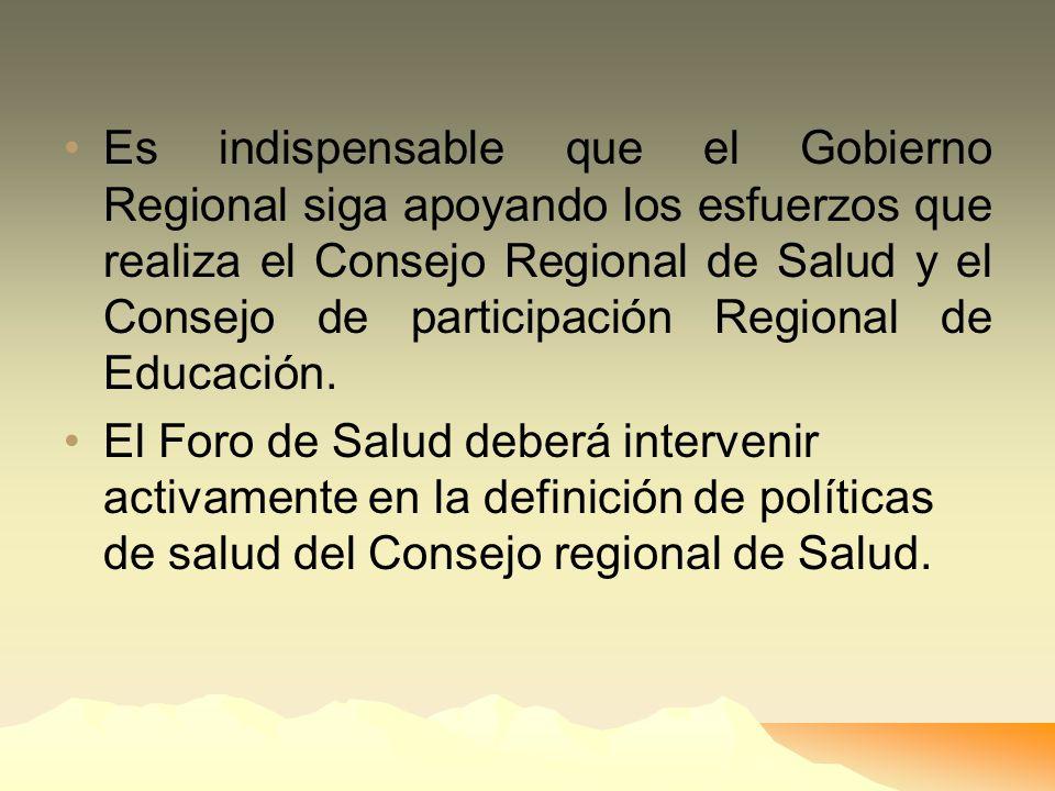 Aprovechar los incentivos de la integración Macroregional será conformando la Junta de Coordinación Interregional, pero el mismo debe ser discutido co