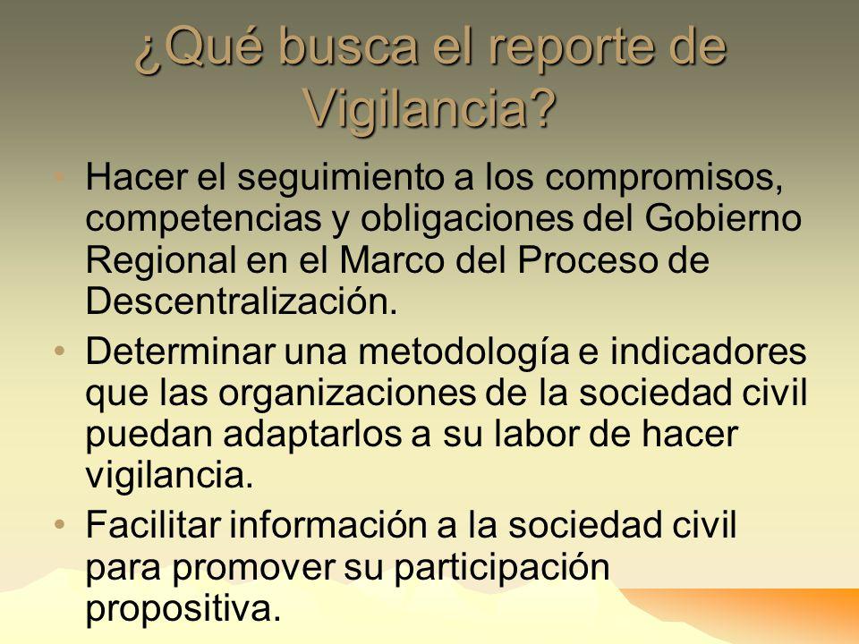 EL REPORTE DE VIGILANCIA DE CEDEP Pertenece al Sistema Vigila Per ú, del Proyecto Proyecto Participa Per ú Ejecutado por el Consorcio Propuesta Ciudad