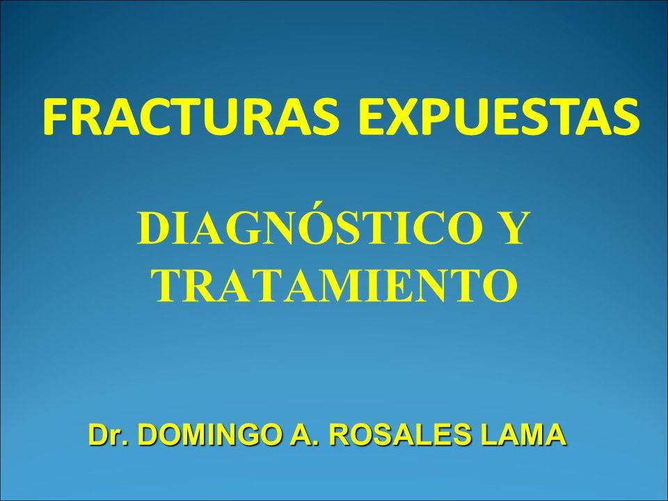 DIAGNÓSTICO Y TRATAMIENTO Dr. DOMINGO A. ROSALES LAMA
