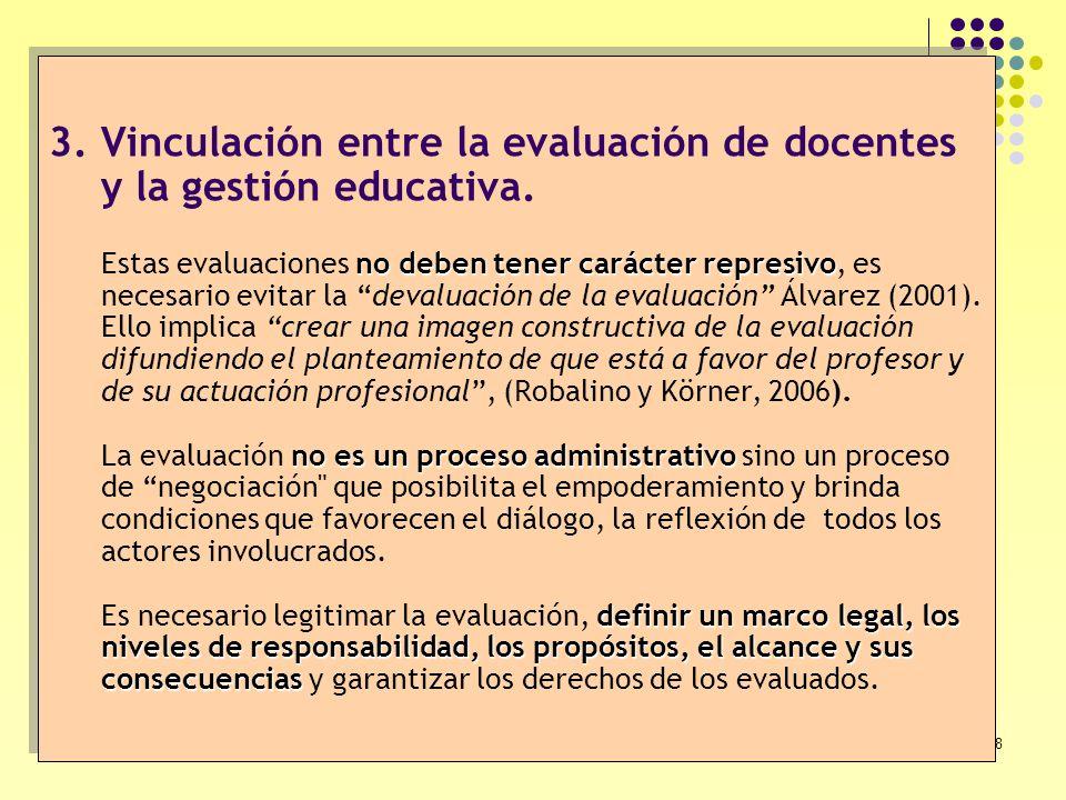 38 no deben tener carácter represivo no es un proceso administrativo definir un marco legal, los niveles de responsabilidad, los propósitos, el alcanc