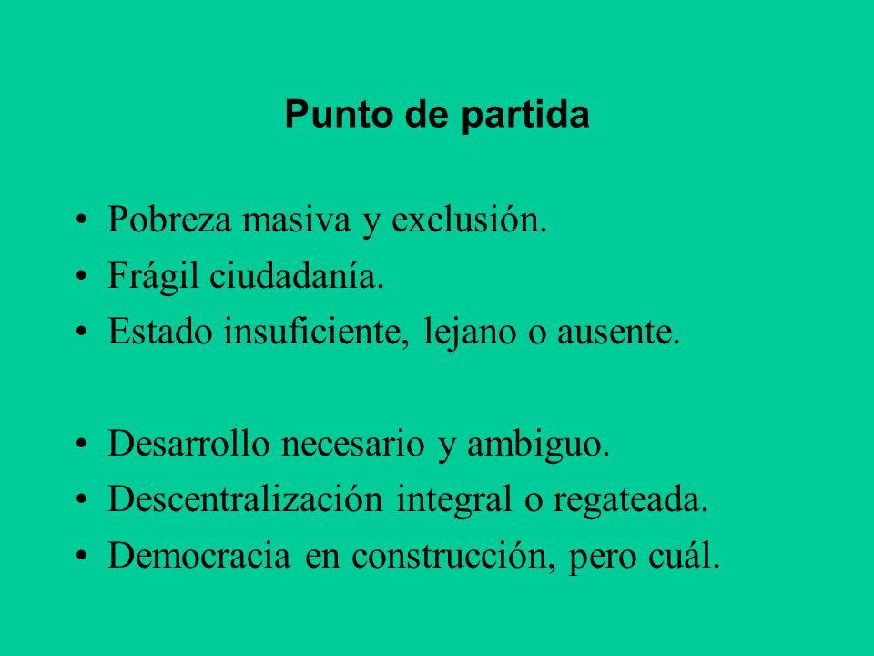 Conclusiones prácticas Presupuesto participativo: con énfasis en inversión.