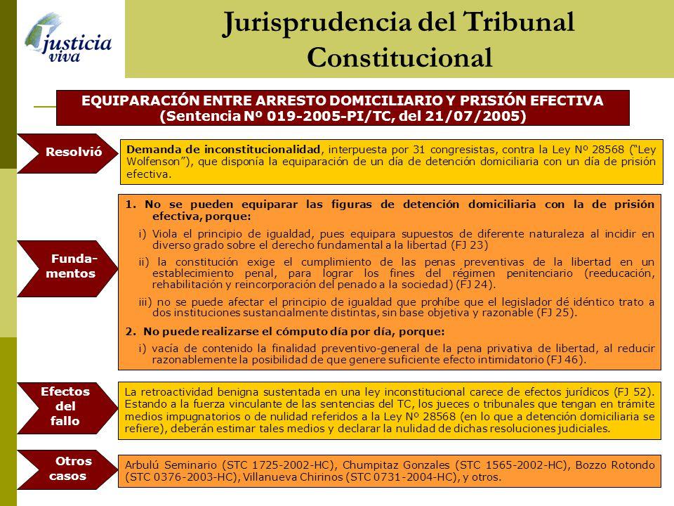 PLAZO MÁXIMO DE DETENCIÓN Y EL DERECHO A LA LIBERTAD PERSONAL (Sentencia Nº 2915-2004-HC, del 23/11/2004) 1.