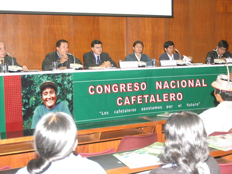 PERU EN EL ESCENARIO MUNDIAL DEL CAFE Producción mundial 2007\2008: 122.5 millones sacos Consumo mundial: 2008 = 128.5 millones Perspectivas del consumo: 2% anual próximos 10 años.