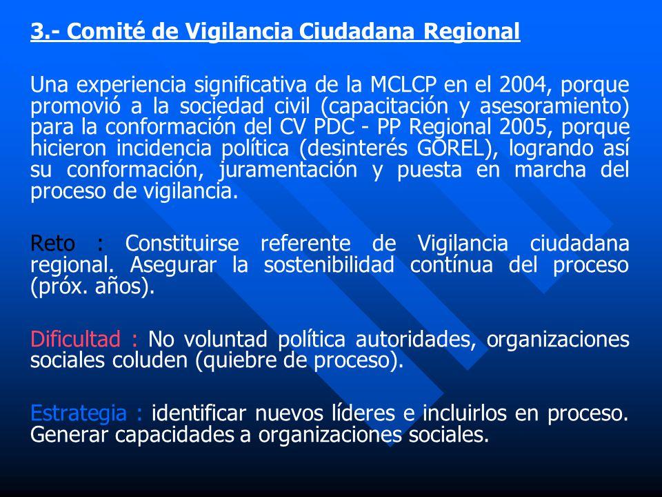 2.- Seguimiento y Vigilancia Ley Nº27050 de PCD (Comité Interinstitucional PATU). MCLCP Loreto coordina con Programa A Trabajar Urbano - MTPS en la co