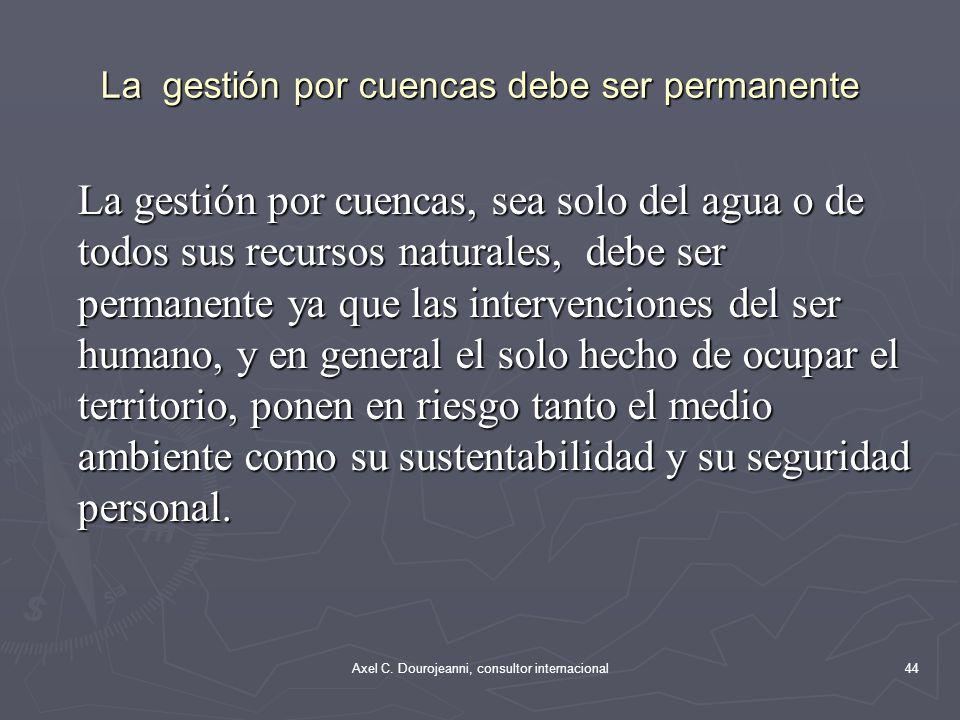 LAS CAUSAS DE LOS FRACASO DESIGNACIÓN DE PERSONAS LÍDERES SIN FORMACIÓN ADECUADA POR RAZONES POLÍTICAS CARENCIA DE EQUIPOS TÉNICOS CALIFICADOS Y DE LARGO PLAZO DE PERMANENCIA CARENCIA DE SISTEMAS DE CAPTACIÓN DE RECURSOS FINANACIEROS FIJOS (CORTE SÚBITO DE APORTES) 43Axel C.