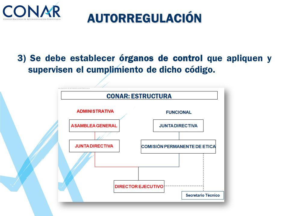 AUTORREGULACIÓN 4) El sistema debe tener un carácter sancionador y capacidad para ejecutar sus decisiones respecto de sus miembros.