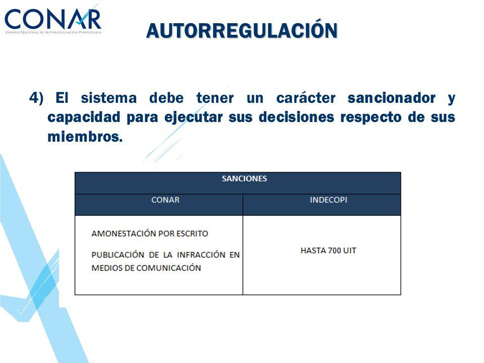 AUTORREGULACIÓN ¿El Denunciante busca la multa o el retiro del anuncio publicitario.