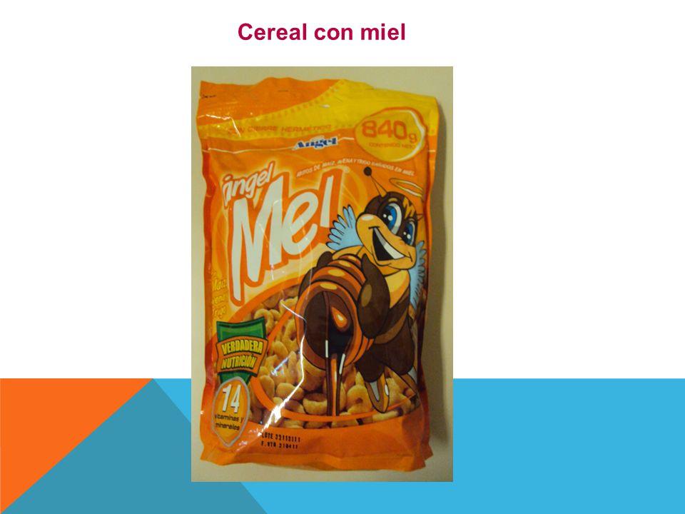 Cereal con miel
