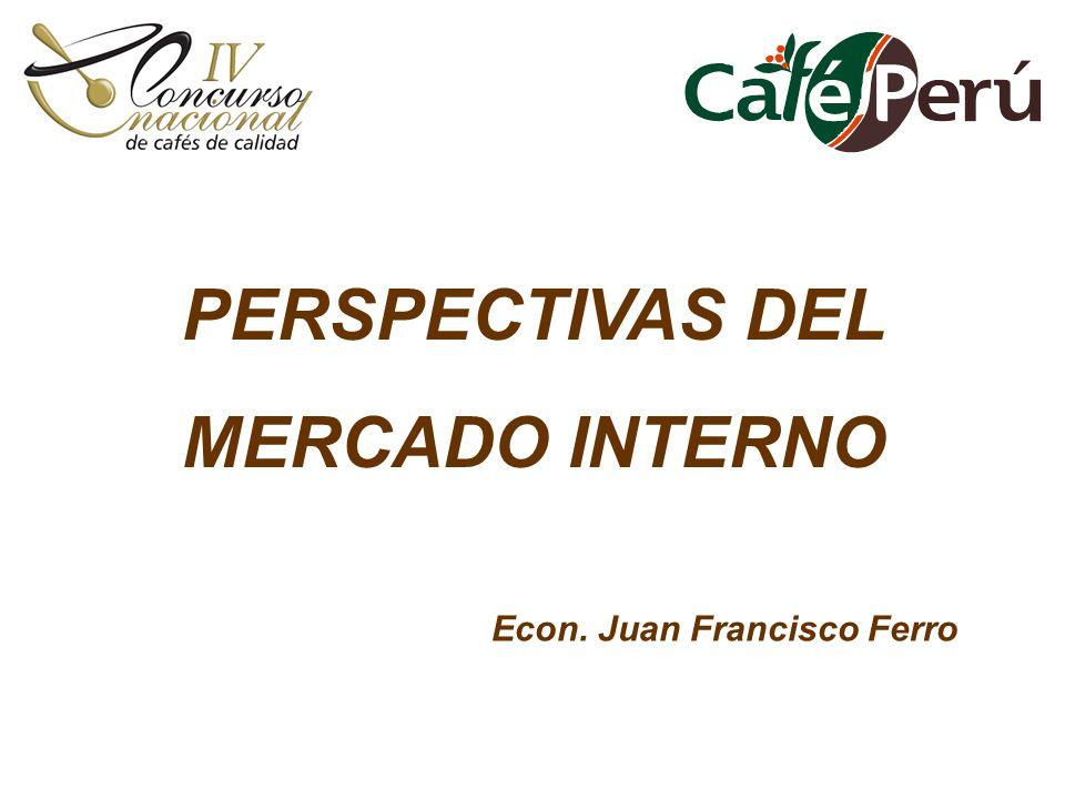 PERSPECTIVAS DEL MERCADO INTERNO Econ. Juan Francisco Ferro