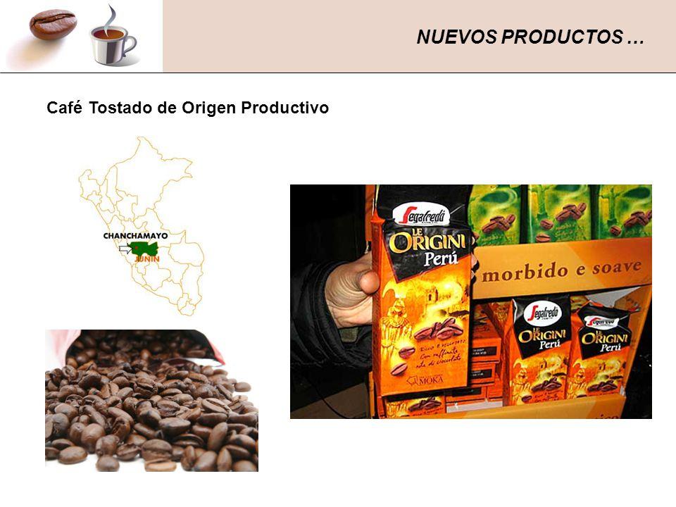 Café Tostado de Origen Productivo NUEVOS PRODUCTOS …