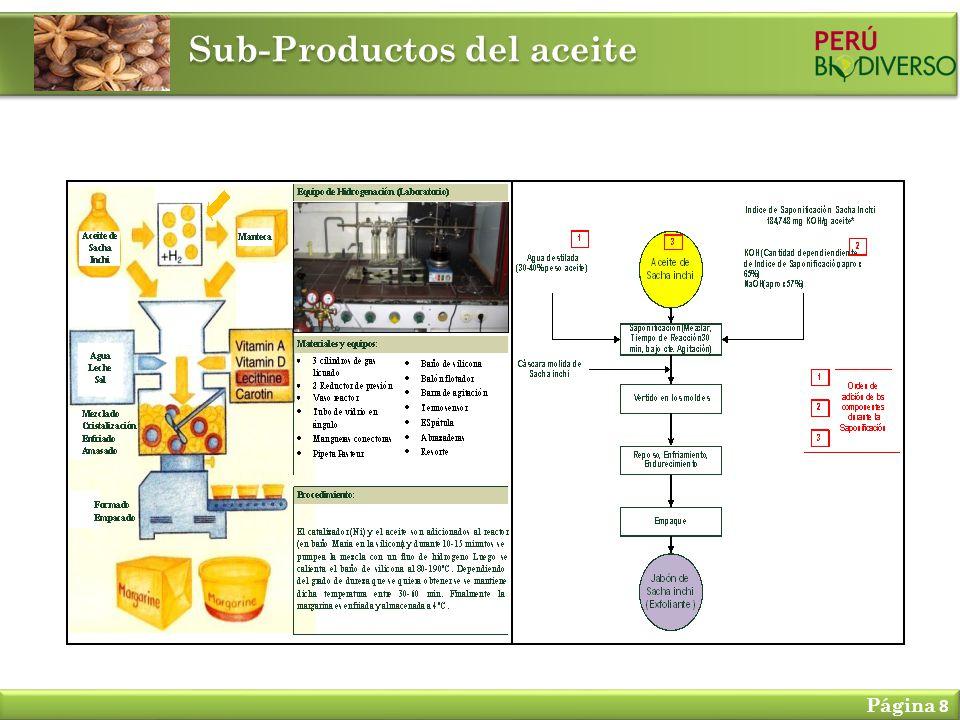 Sub-Productos del aceite Página 8