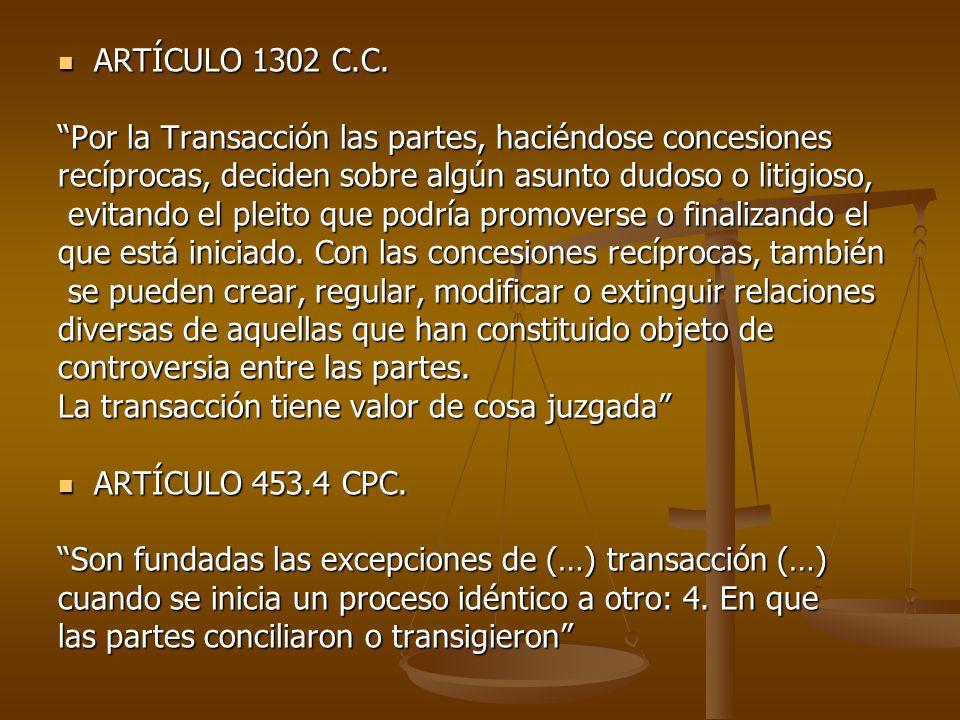 ARTÍCULO 1302 C.C.ARTÍCULO 1302 C.C.