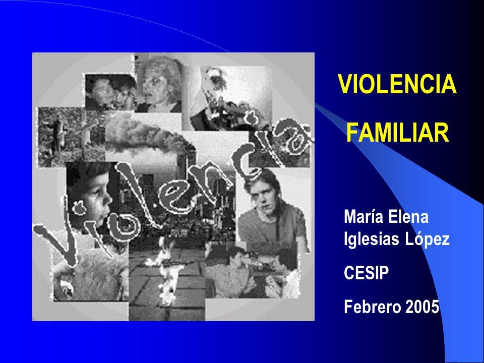 En la vida de una familia (la violencia emerge por) factores que dependen de su dinámica y de las perturbaciones de su mdio ambiente (J.