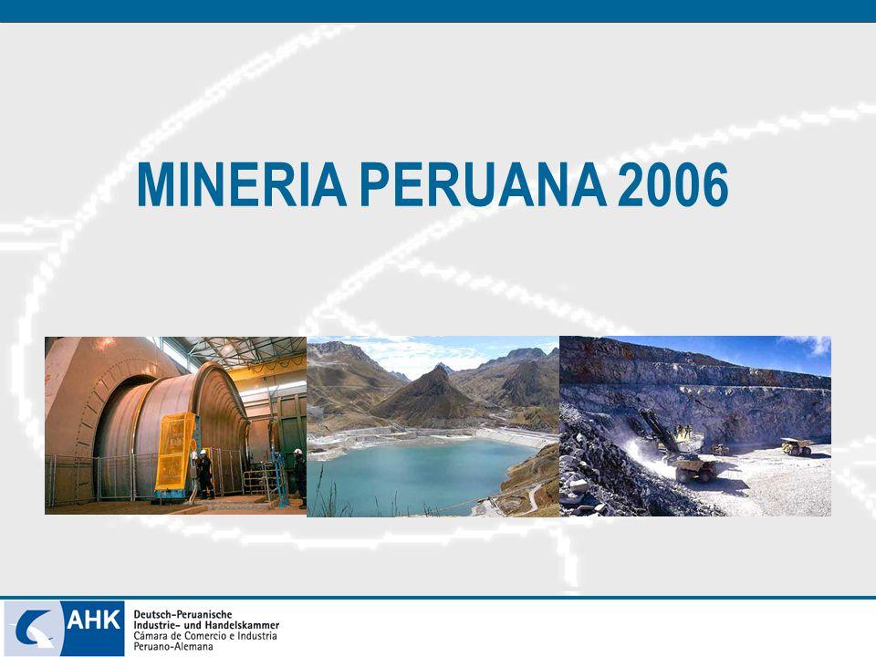 MINERIA PERUANA 2006