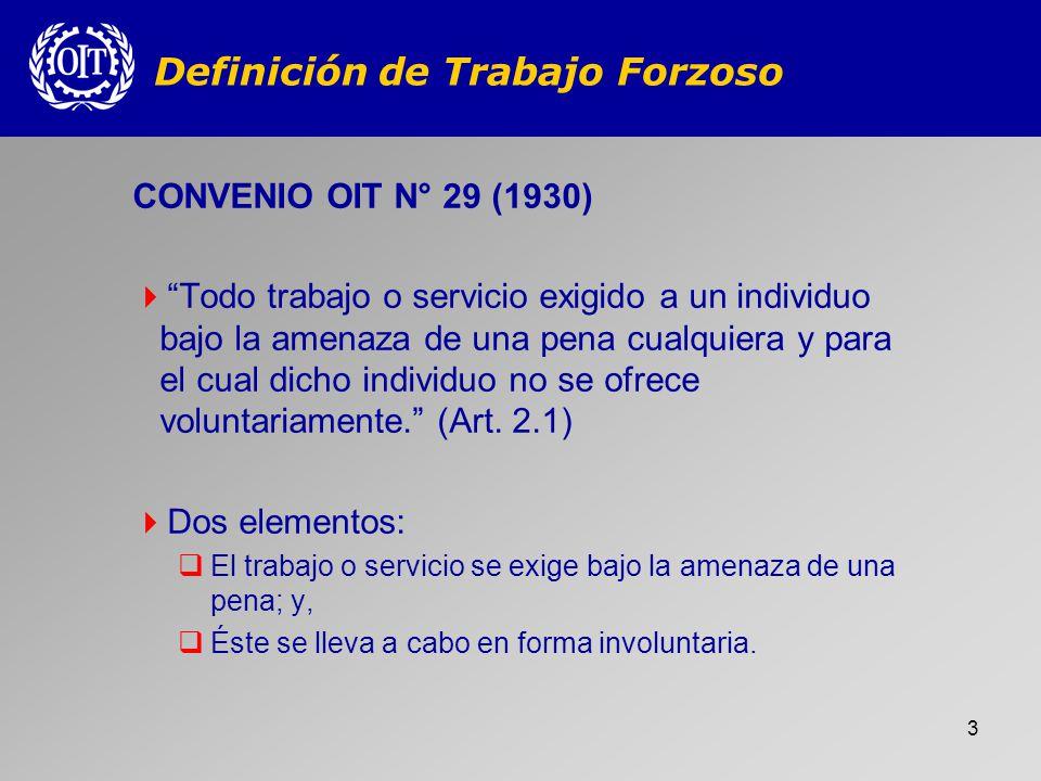 14 2.Convenios 29 y 105 Cuarta Disposición Final Forman parte derecho nacional (art.